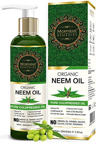 Morpheme Remedies Organic Neem Cold Pressed Oil,...