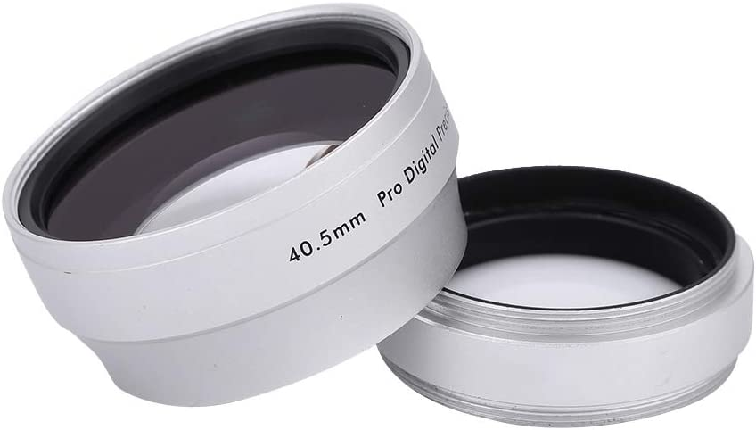 0.45X 40.5mm Macro Reservation Lens Photography Price reduction Wide Angle Close Alloy