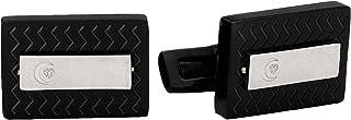 Diamond Moon Stainless Steel Cufflinks for Men, Stainless Steel - 1800541240430