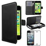 ebestStar - Coque Compatible avec iPhone 5C Apple Etui PU Cuir Housse Portefeuille Porte-Cartes...