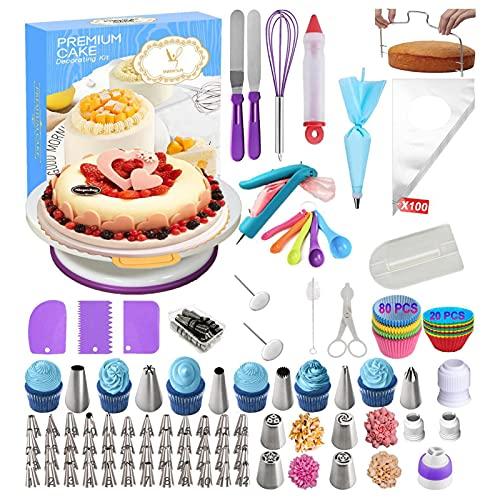 Oplu - 285 piezas para decoración de cake y repostería