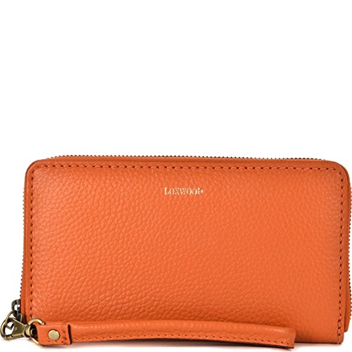 Loxwood - Portafogli Donna, Arancione (Arancione (CLEMENTINE CLEMENTINE)), 3x11x20 cm (W x H x L)