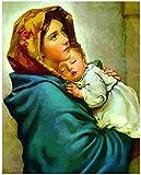 Rompecabezas de Jesús María religioso 1000 piezas rompecabezas para adultos niños adolescentes niños niñas amigos juguetes años regalo 50x75cm