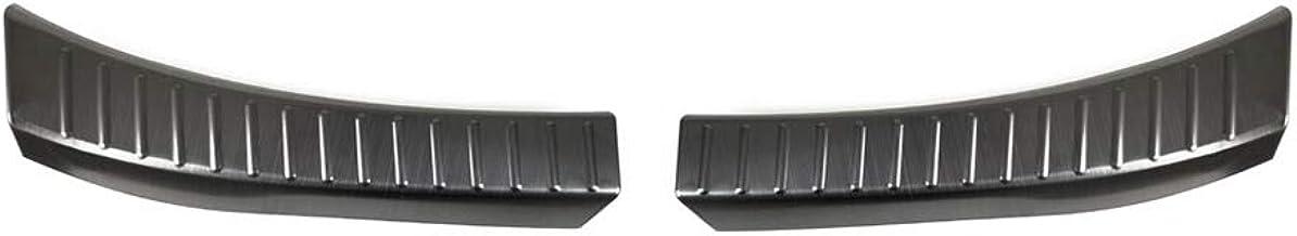 サムライプロデュース マツダ CX-8 KG系 専用 ラゲッジ スカッフプレート 2P ブラックヘアライン