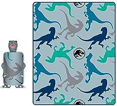 Jurassic World Blanket Dinosaur Plush Hugger Pillow Set