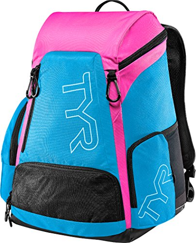 TYR Alliance Team Backpack - NEW 2017 - 30L - Blue/Pink