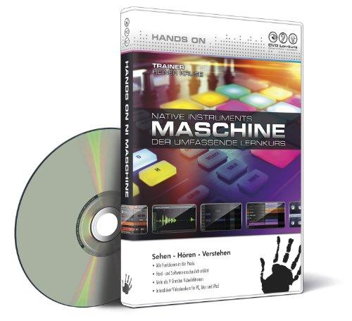 Preisvergleich Produktbild Hands On Maschine - Der umfassende Videolernkurs (PC+MAC)