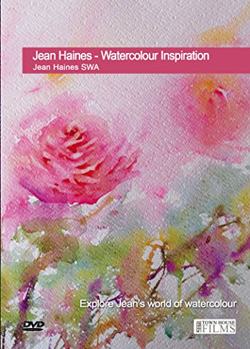 Jean Haines - Watercolor Inspiration DVD with Jean Haines SWA