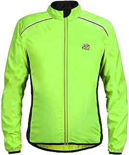 Sunward Coat for Men,Men Women Lightweight Jacket Waterproof Windbreaker Bicycle Cycling Sport Jacket