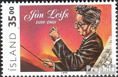 Islande mer.-no.: 902 (complète.Edition.) 1999 JN Leifs (Timbres pour Les collectionneurs) Musique / Danse