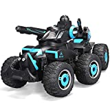 Ycco Stunt Children's Toy Car Remote Control Car Rotating Stunt Home Gravity Children Sport Racing Vehicle Rechargeable Kids Electric Toy Black[New Version]