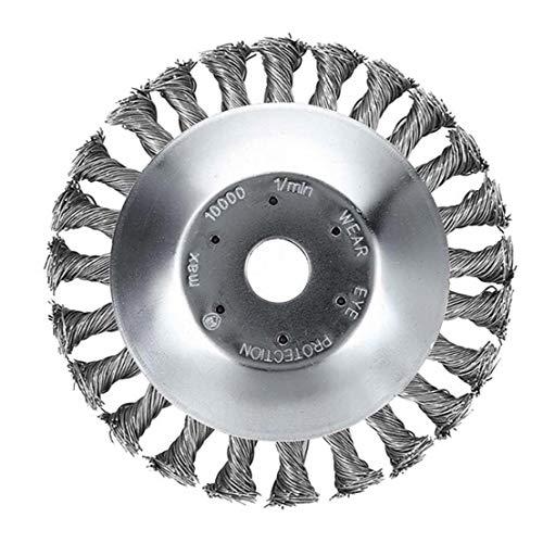 Alambre de acero Hierba-cortador Herramientas prácticas para Patio, 6 pulgadas