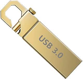 128/256/512/1024GB USBフラッシュドライブUSBメモリースティック3.0ミニUSBスティック サムドライブペンドライブ (256gb, ゴールド)