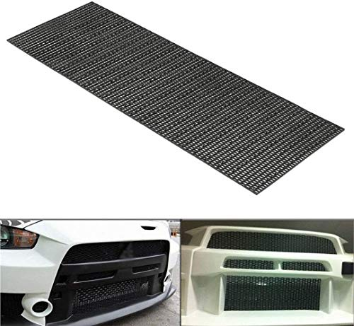 Honeycomb Hex Mesh - Universal Car Mesh Grill for Bumper(47x16 Inches)
