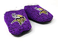 Forever Collectibles FOCO NFL Infant Knit Baby Bootie Shoe (Minnesota Vikings, Large (6-9M))