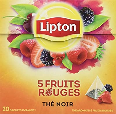 Lipton Thé 5 Fruits Rouges 20 Sachets - 34 g parent