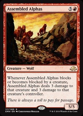 Magic The Gathering - Assembled Alphas (117/205) - Eldritch Moon
