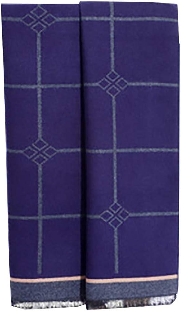 Jacquard Tassel Scarf Cozy Cashmere Like Acrylic Stylish Knit Tartan Tassel Long Winter Fall Men Shawl