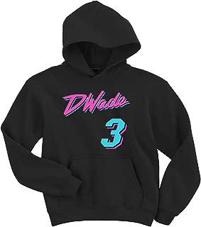 The Tune Guys Black Miami Wade Vice City Hooded Sweatshirt