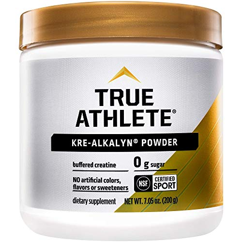 True Athlete Kre Alkalyn Helps Build Muscle Gain Strength Increase Performance Buffered Creatine NSF Certified for Sport 705 Ounces Powder