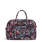 Vera Bradley Signature Cotton Weekender Travel Bag, Foxwood