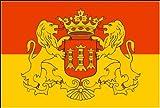Lingen mit Wappen Stadt Fahne / Flagge Größe 1,50x0,90m - FRIP –Versand®