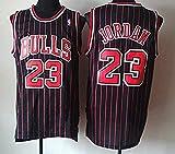 Zhao Xuan Trade Jersey Bulls Masculino Campeón de la NBA Vintage Michael Jordan Jersey Chicago Bulls # 23...