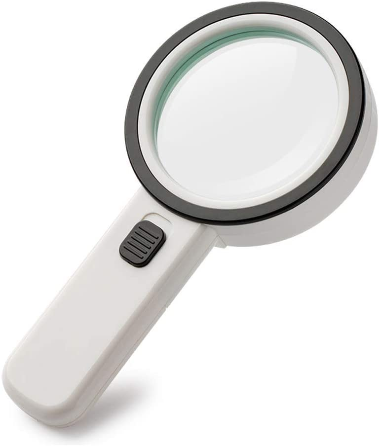 Loupe 30X Illumination Magnifier with 12 Lens Light LED Jewel Sales for sale HD Spring new work
