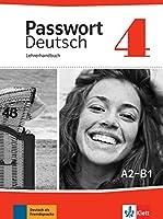 Passwort Deutsch: Lehrerhandbuch 4