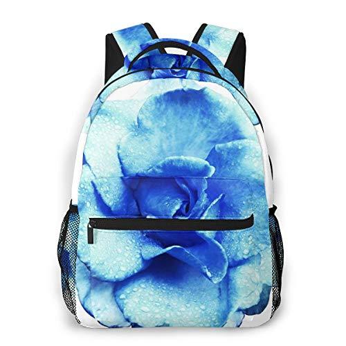 Laptop Rucksack Daypack Schulrucksack Backpack Rose Flower Clipping, Business Taschen Freizeit Rucksack Arbeits Schultasche für Herren Männer Schüler Schule
