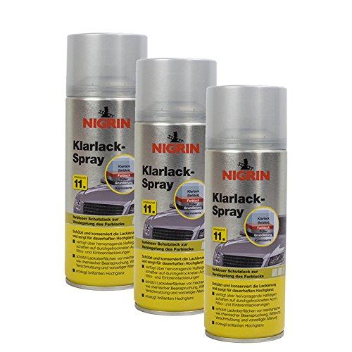 Nigrin 3X 74116 Klarlack 400 ml