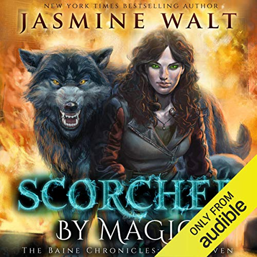 Scorched by Magic audiobook cover art