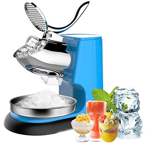 YANXS Professional Ice Crusher, Electric Ice Shaver 95kg/h Cold Drink...