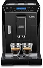 Delonghi super-automatic espresso coffee machine with an adjustable grinder, double boiler, milk frothermaker for brewing ...