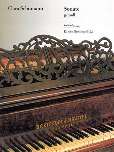 Sonate g-moll Erstdruck - Breitkopf Urtext (EB 8172)