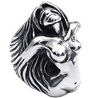 PW 高品質チタン&ステンレス 女神指輪リンク 22488 シルバー(銀色) 【ラッピング対応】
