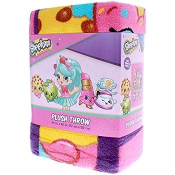 Shopkins Kids Plush Throw Blanket Soft Home D   Shopkin.Toys - Image 1