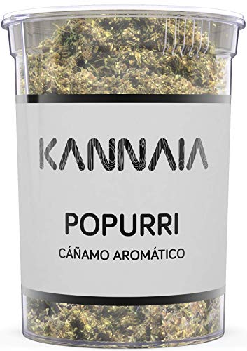 KANNAIA - POPURRI 25 g - ALEGRÍA Y EQUILIBRIO - Cáñamo aromático
