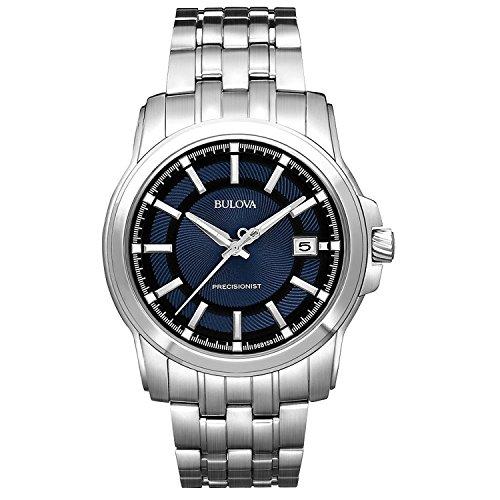 [ブローバ]Bulova 腕時計 Precisionist Blue Black Watch 96B159 メンズ [並行輸入品]