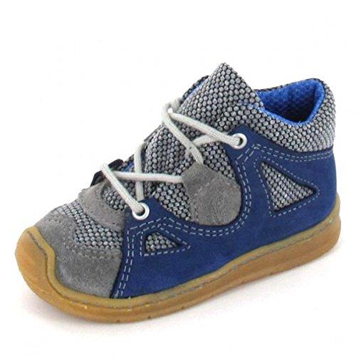 Ricosta. Babyschoenen voor jongens Terry laarzen grafiet inkt grijs