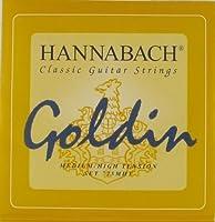 Hannabach Classical Guitar Goldin Medium/High Tension 725 [並行輸入品]