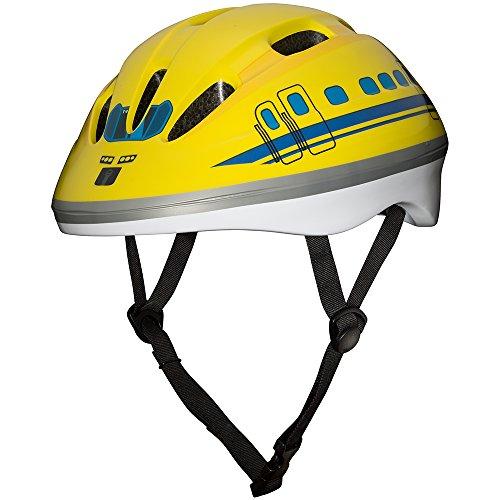 ブルジュラ キッズヘルメット 923形ドクターイエロー Brujula 子供用 自転車ヘルメット 3~8歳向