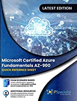 Microsoft Certified Azure Fundamentals AZ-900: Quick Reference Sheet Front Cover