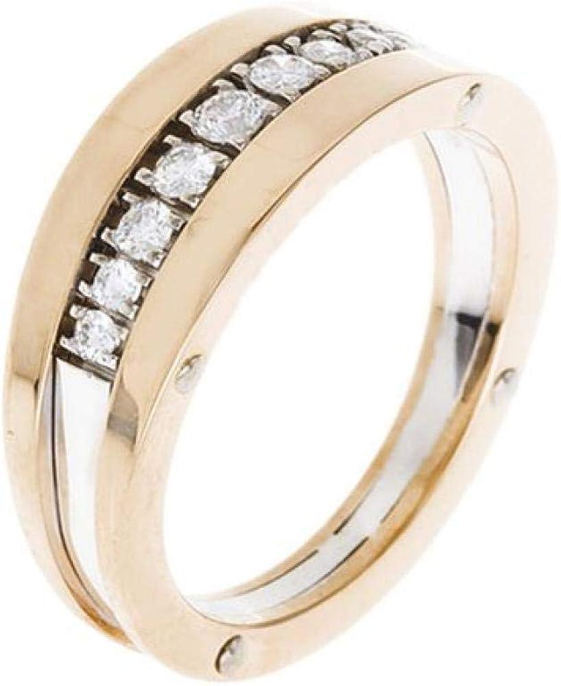 Chimento ,fedina per donna in oro rosa 18 kt(11,5gr),impreziosita da 7 diamanti 0,71 ct 1A08361BB7140