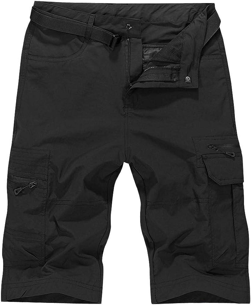 OCHENTA Men's Under blast sales Quick Dry Cargo Hi for Lightweight Shorts Outdoor Indefinitely
