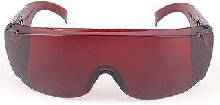 PC Materiaal Industrieel Arbeidsbeschermingsbril Infrarood Beschermende Bril wijnrood