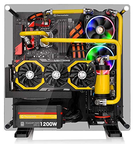 Gamers Dream: Tempered Glass PC Cases 10