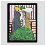 hutianyu Picasso Guernica Abstraktes Ölgemälde Wand