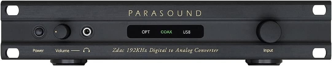 Parasound - Zdac - Digital to Analog Converter - Black