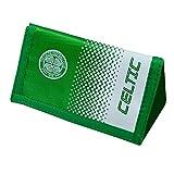 Celtic FC Official - Cartera con escudo del equipo oficial (Talla Única) (Verde/Blanco)